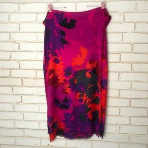 Accessories - Bright Floral Scarf